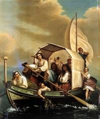 die bootspartie by antoine de gottrau