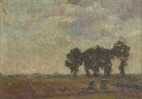 travaux aux champs by léon riket