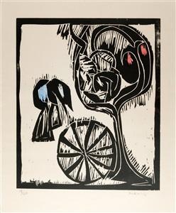 artwork by pierre alechinsky