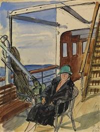 boat trip by vladimir alekseevich milashevsky