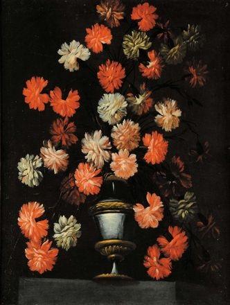 natura morta con fiori natura morta con fiori pair by mario nuzzi
