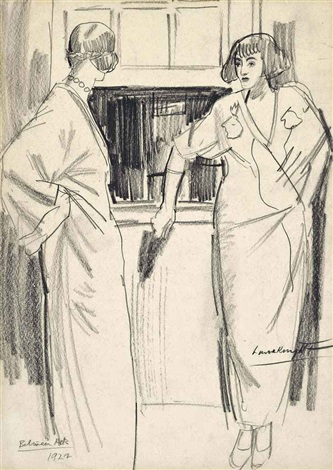 between acts by dame laura knight