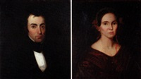 portraits of a husband and wife by emerson f. goddard