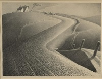 march by grant wood