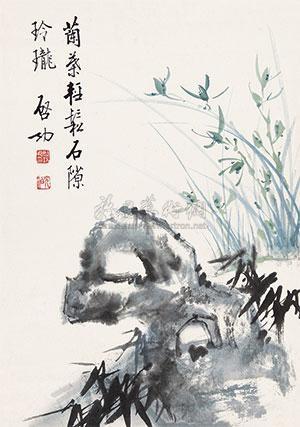 竹石 by qi gong