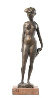 nudo femminile (bagnante) by quinto martini