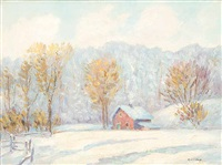 untitled (still winter day) by robert henry lindsay