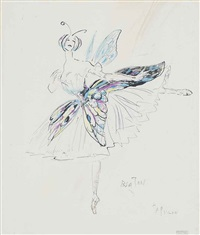 costume design for les papillons by cecil beaton