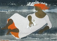 mother and child by mary fedden