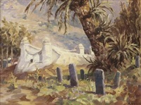 a hadjis tomb, signal hill, old malay cemetery by allerley glossop