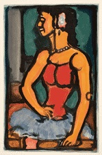 douce amère by georges rouault