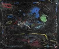große, abstrakte komposition by ralf klose-majewska