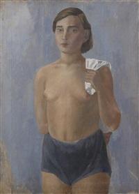 a gymnast by victoria belakovskaya