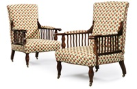 saville armchairs (set of 2) by george washington jack