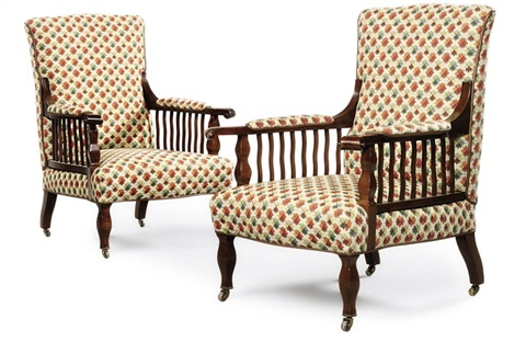 saville armchairs set of 2 by george washington jack