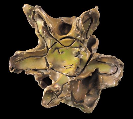medusa by lucio fontana