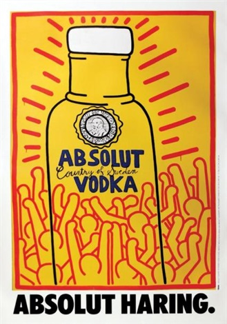 absolut haring absolut vodka by keith haring