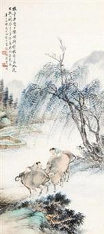 牧牛图 by xu xiaochun and shen xinhai