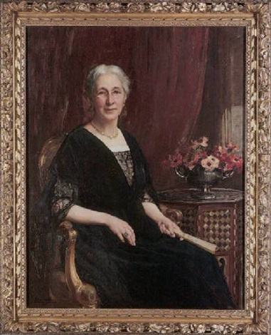 portrait of mrs bryce smith by maud hall rutherford neale