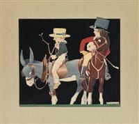 equestrians by rené vincent