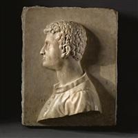 a portrait of cosimo i de medici by baccio bandinelli