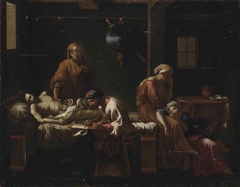the testament of eudamidas by nicolas poussin