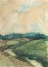 river landscape by einar ilmoni