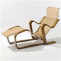 Marcel breuer auction results marcel breuer on artnet for Breuer chaise lounge