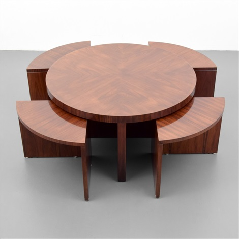 Duke Coffee Table With Nesting Tables By Ralph Lauren