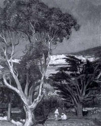 tangier from the villa harris by maurice grosser