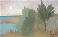 paesaggio marino by guido peyron