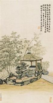 竹亭幽径 by jiao bingzhen
