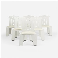 chippendale chairs (set of 6) by robert venturi