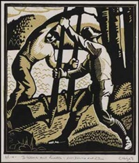 lumberjacks by edwin headley holgate