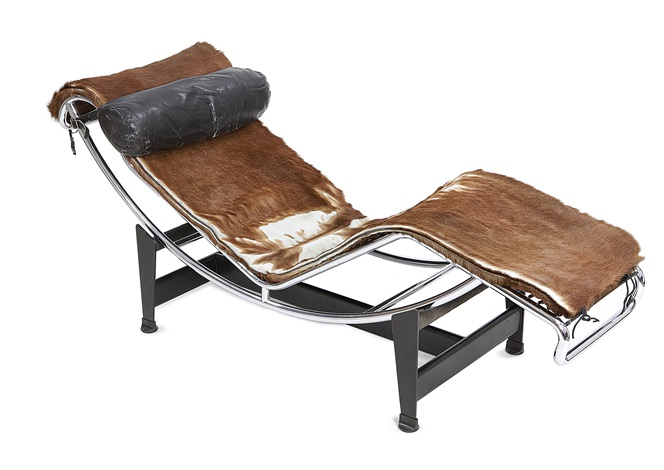 Chaise longue mod lc4 by le corbusier charlotte perriand for Chaise longue pony lc4 le corbusier