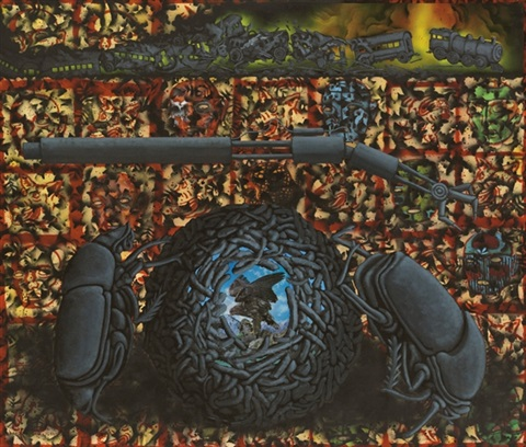 dung beetles ii camaouflage leads us into deconstruction by david wojnarowicz
