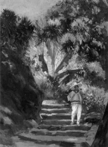 In A Tropic Garden By Hermann Dudley Murphy On Artnet