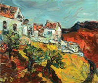 houses in safed by yitzhak frenkel-frenel