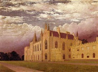 rossie priory the seat of lord kinnaird by frederic alsop