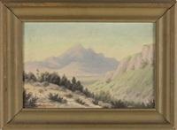 desert landscape by william p. krehm