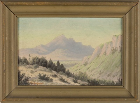 desert landscape by william p krehm