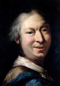 bildnis eines mannes (selbstporträt?) by salomone adler