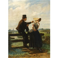 the flirtation by adolf alexander dillens