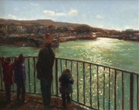 afternoon, howth harbour by paul kelly