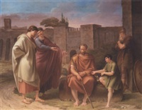 the recognition of belisarius by eberhard wächter