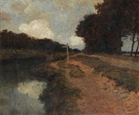 le long du canal / beilen by louis albert roessingh