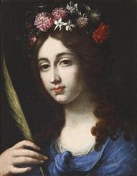 die heilige dorothea by cesare dandini