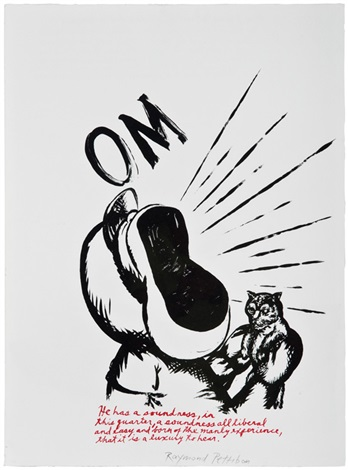 untitled om untitled but we must 2 by raymond pettibon