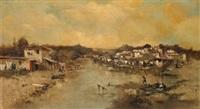 paisaje fluvial by emilio álvarez ayllón (ayón)