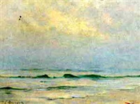 the sea at dawn by william king amsden